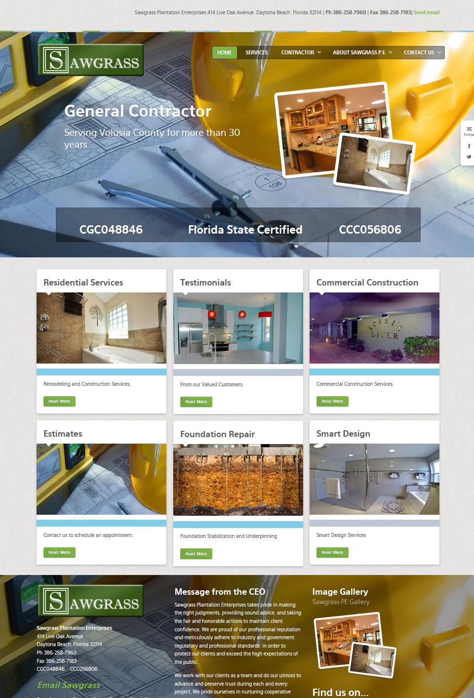 A new website design of success!