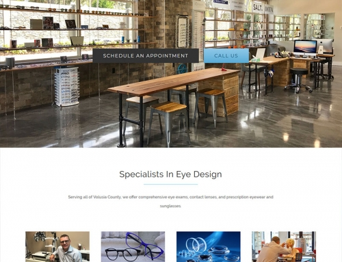 Eye Design Eye Wear New Website