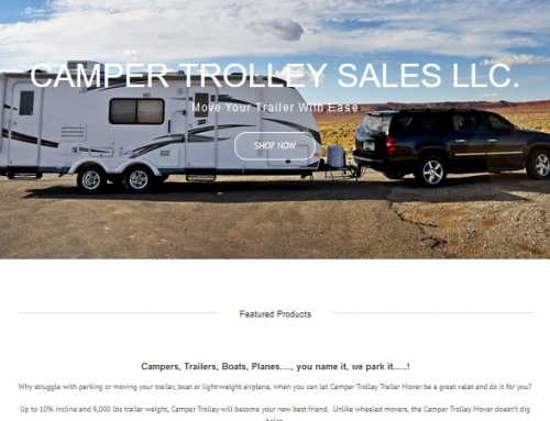 Camper Trailer Mover